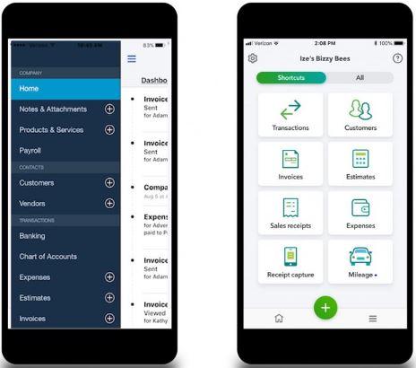 QuickBooks Mobile App